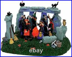 Lemax Spooky Town Witches' Coven Animated Halloween Village Accessory 74596