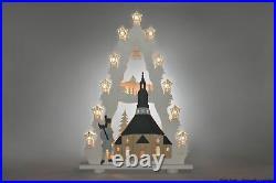 Lichterspitze Seiffener Kirche Länge ca 52cm NEU Motivleuchte Lichterbogen
