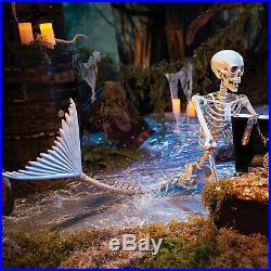 Life-Size Original Mermaid Skeleton Halloween Decoration Home Decor 1 Piece