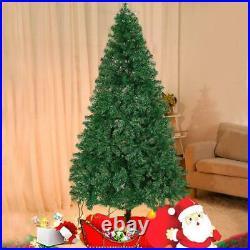 Lonabr 10Ft Festival Artificial Christmas Pine Tree Holiday Season White Green
