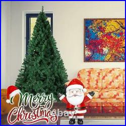 Luckyermore 9 FT/10FT Artificial Christmas Tree Xmas Metal Stand Home Decoration