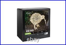 Lytworx 50cm Warm White Solar Kiwi Bird Statue