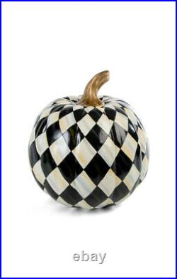 MacKenzie-Childs Courtly Harlequin Pumpkin Medium
