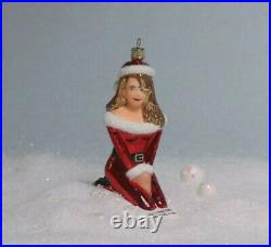 Mariah Carey This is. Not approved Blown Glass Christmas Ornament ONLY ONE