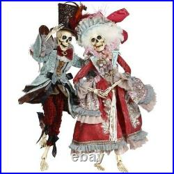 Mark Roberts 2020 Collection Grand Ball Skeleton, Assortment of 2 Figurines
