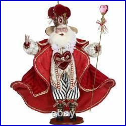 Mark Roberts 2020 Collection King of Hearts Santa 27'', Figurine