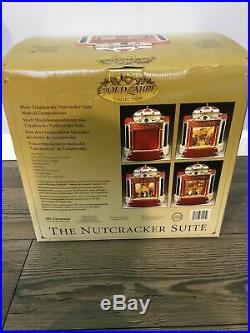Mr Christmas Nutcracker Suite Ballet Stage Multi-Action/Lights Music Box VIDEO