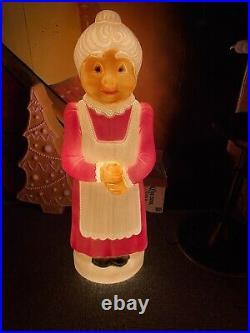 Mrs Claus Blowmold Christmas Light