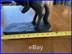 NEW- Headless Horseman Ichabod Crane Sleepy Hollow Statue Black Halloween