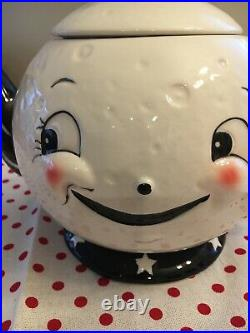 NEW Johanna Parker Magenta Carnival Cottage Laughing Luna Teapot VHTF