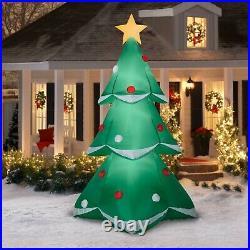 NIB GIANT 10' Animated Rotating Christmas Tree Airblown Inflatable NIB by Gemmy