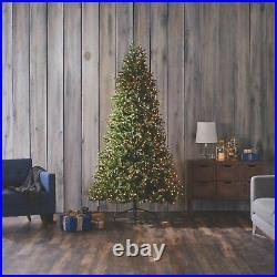 NOMA 7.5 Ft Fir Artificial Prelit Warm White LED Light Christmas Tree (Open Box)