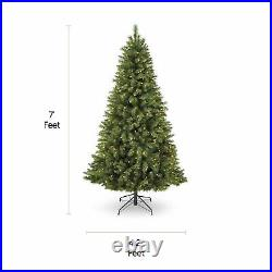 NOMA 7-Ft Henry Fir Artificial Color Changing LED Pre-Lit Holiday Christmas Tree