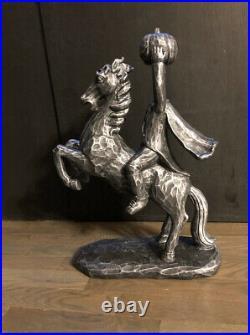 NWT-19 Headless Horseman Ichabod Crane Sleepy Hollow Statue Black Halloween