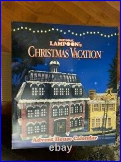 National Lampoons Christmas Vacation Advent House Calendar