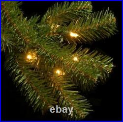 National Tree Co. 7.5' North Valley Spruce Tree with Dual Color LED Lights