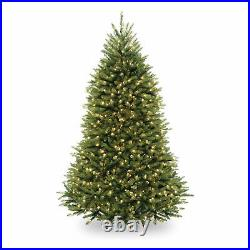 National Tree Company 6.5 Foot Pre-Lit Dunhill Fir Artificial Tree (Open Box)