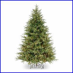 National Tree Company Feel Real Frasier 7.5 Ft Prelit Artificial Christmas Tree
