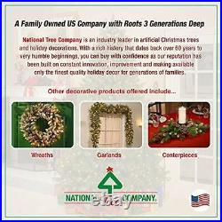 National Tree Company Pre-lit Artificial Christmas Tree, Includes Pre-strung W