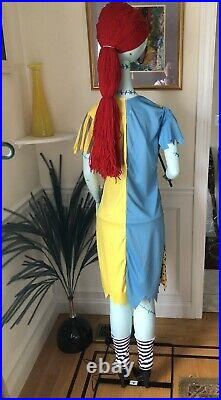 Nightmare Before Christmas Animated Life Size Sally. New with Box