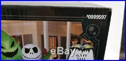 Nightmare Before Christmas Jack Skellington & Oogie Boogie Inflatable (6.5') NIB