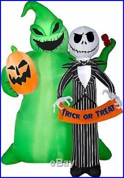Nightmare Before Christmas Skellington OOGIE 6.5FT Halloween AIRBLOWN INFLATABLE