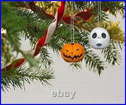 Nightmare Before Christmas The Many Faces Tim Burton Christmas Tree Ornament