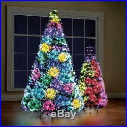 Northern Lights Christmas Tree 4.5 LED Lighted Fiber Optic 23 Pattern