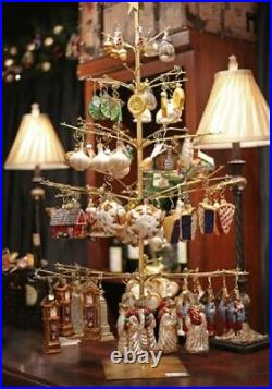Old World Christmas Large Ornament Display Tree Holds 120 Ornaments 14360 New