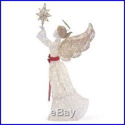 Outdoor Holiday Decorations 72 In. Life Size Christmas Angel Yard LED Lights