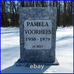 Pamela Voorhees Tombstone Prop Jason Voorhees Friday 13th Halloween Judith Myers