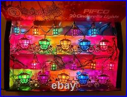 Pifco Vintage 20 Cinderella Christmas Lights. Boxed inc. Mounts, spare bulbs, VGC