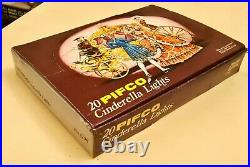 Pifco Vintage 20 Cinderella Christmas Lights. Boxed & mounts, excellent condition