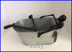 Pottery Barn WALKING DEAD Skeleton Bath Party Bucket NEW WITH TAGS