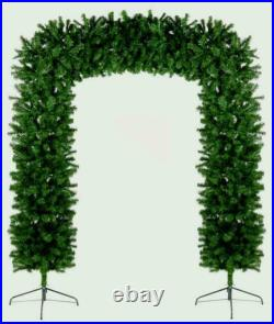Premier Christmas Indoor Outdoor Tree Arch Green 240cm/2.4m/8ft