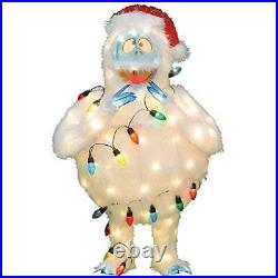 ProductWorks 32-Inch Pre-Lit Rudolph the Red-Nosed Reindeer Bumble Christmas