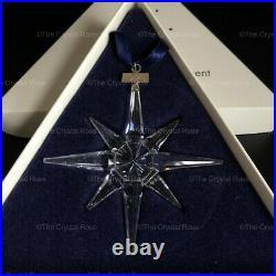 RARE Retired Swarovski Crystal 1995 Christmas Snowflake Ornament 191635 Mint