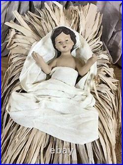 RAZ Imports Large 17.5 Holy Family S/3 Beautiful Elegant Christmas NEW Nativity