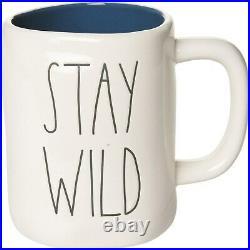 Rae Dunn Stay Wild Mug SIERRA EXCLUSIVE LIMITED EDITION