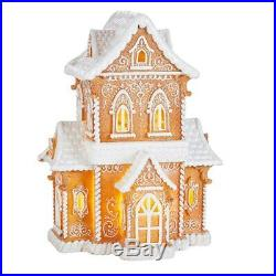 Raz Imports Kringle Candy Co. 14.5 Gingerbread Lighted House