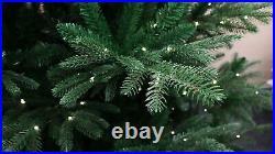 Realistic Rocky Mountain Fir Artificial Christmas Tree Pre-lit 5' 6' 7' 8' 9
