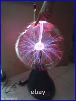 Red 16 Tesla Plasma Ball Lightning Light Lamp for Holiday Party Club Bar Decor