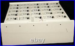 Restoration Hardware Christmas Advent Calendar House Ivory with 25 doors HEAVY