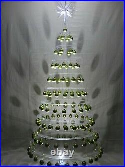 STUNNING MINIMALIST HANGING CHRISTMAS TREE by AA DESIGNS LLC. Over 7 1/2' Tall