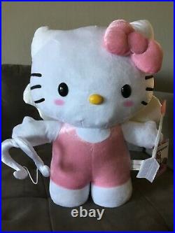 Sanrio Valentine's Day 19 in Hello Kitty as Cupid Porch Greeter Plush Doll NEw