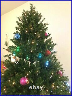 Santa's Best LED Smart-Tech Tree 7.5 Ft Pre Lit California Spruce