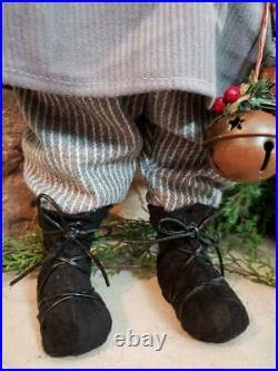 Set 2 NWT 20 Santa's Elves ELF Red Gray Christmas Figure Display Prop