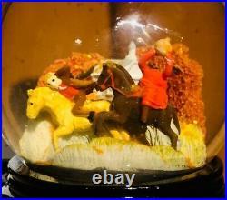 Sleepy Hollow-Headless Horseman Snow Globe Tarrytown Purchase (VERY RARE)