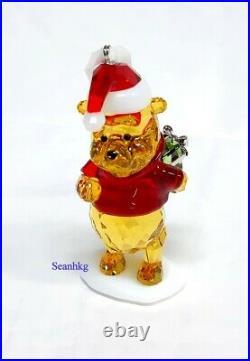 Swarovski Winnie The Pooh Christmas Ornament Disney Multicolors Crystal 5030561