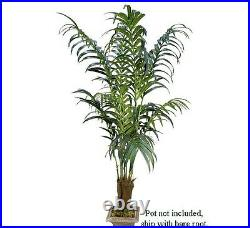 TWO 7' Kentia Palm Artificial Silk Trees Look Real 66